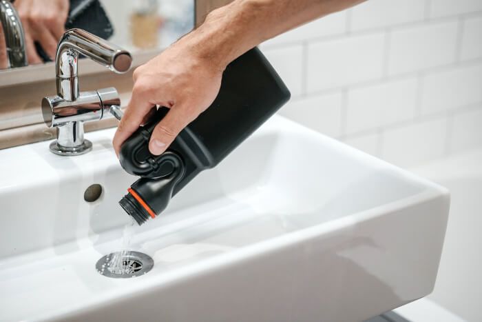 Avoid Drain Cleaners